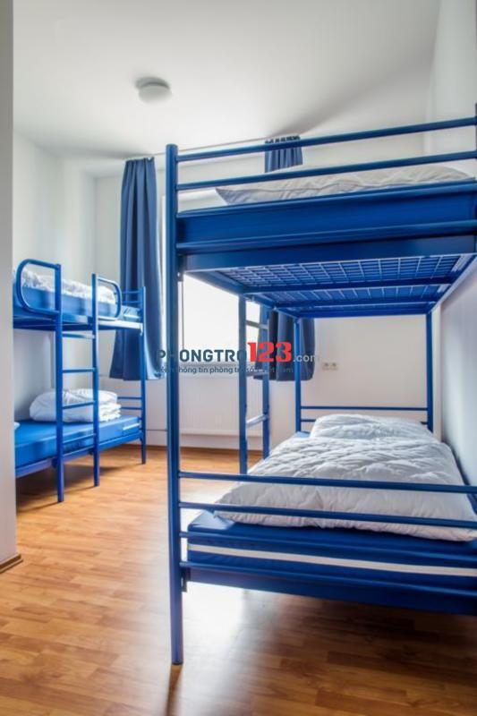 Phòng trọ Ở ghép giường tầng tư nhân cao cấp, Full nội thất, Bao Tất Cả, Bảo vệ 24/24, Sạch sẽ