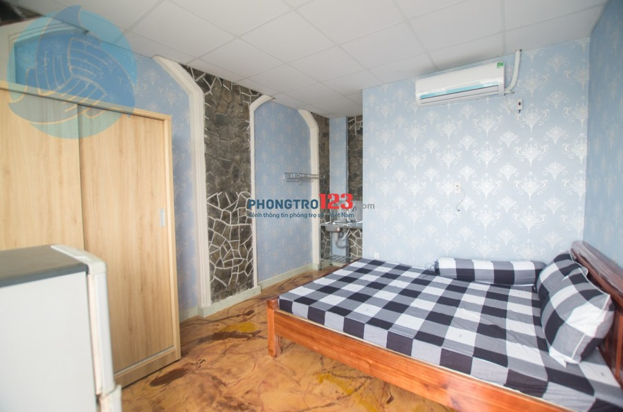 Phòng trọ cao cấp tại Xô Viết Nghệ Tĩnh, Bình Thạnh, gần các trường Đại Học Hutech, Ngoại Thương...