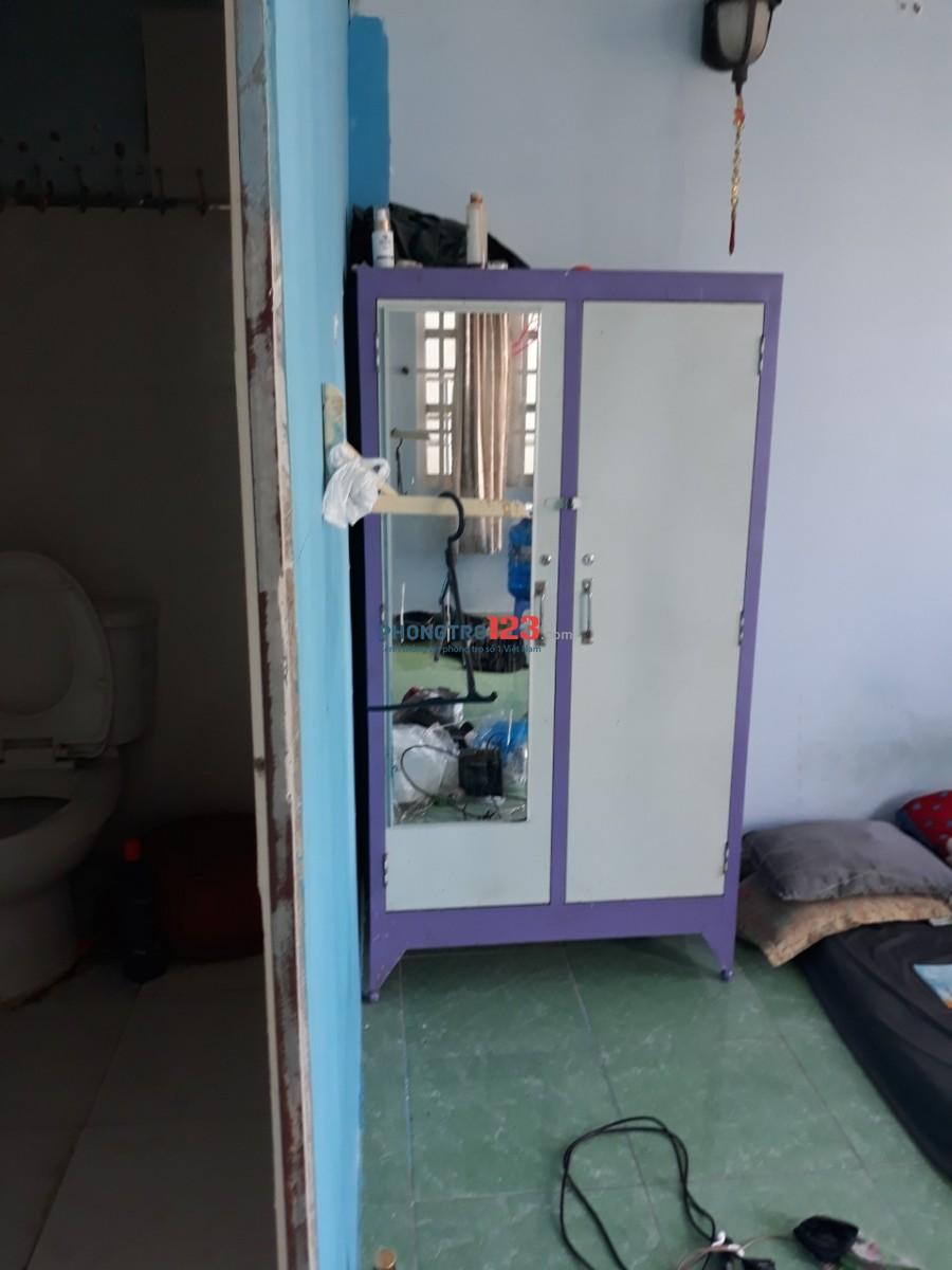 cho thuê phòng có máy lạnh,tủ lạnh ,ban công,tủ quần áo,nệm gối ,bếp đầy đủ
