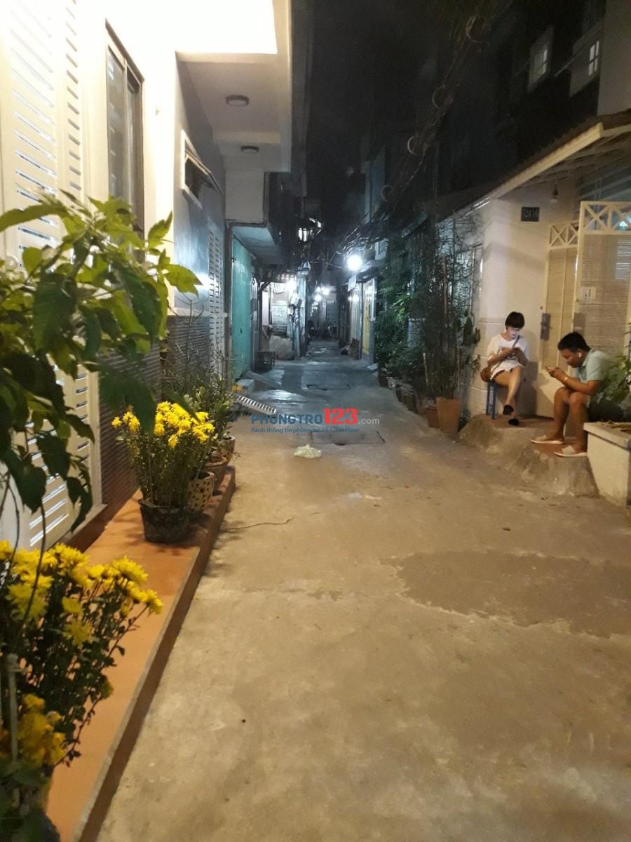 Cho thuê nhà HXH 524/16/11 Nguyễn Đình Chiểu Q3 (thông cư xá Đô Thành) 1Tr1L2PN
