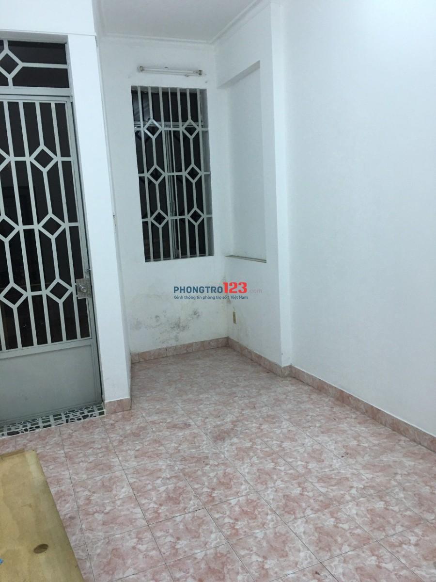 Cho thuê nhà HXH 348/21 CMT8 Q3 1Tr1L 2PN cho thuê dài hạn