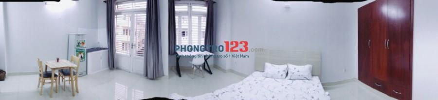 căn hộ mini ngay trung tâm Q3, DT: 25m2,giá 3.9 triệu. 0918856800 (hoa hồng 30%/phòng)