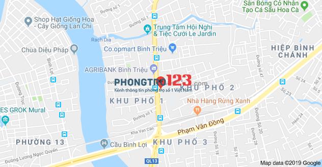 Cho Sinh Viên + cựu sinh viên nữ thuê phòng 20m2, 68/19 đường số 6, HBC, Thủ Đức. Giá 3 triệu