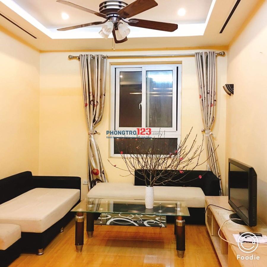 Mình cho thuê phòng riêng 30m2, đủ đồ, 4.5tr, Cầu Giấy