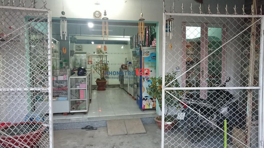 Cho thuê nhà nguyên căn mặt tiền đường Bùi Hữu Nghĩa