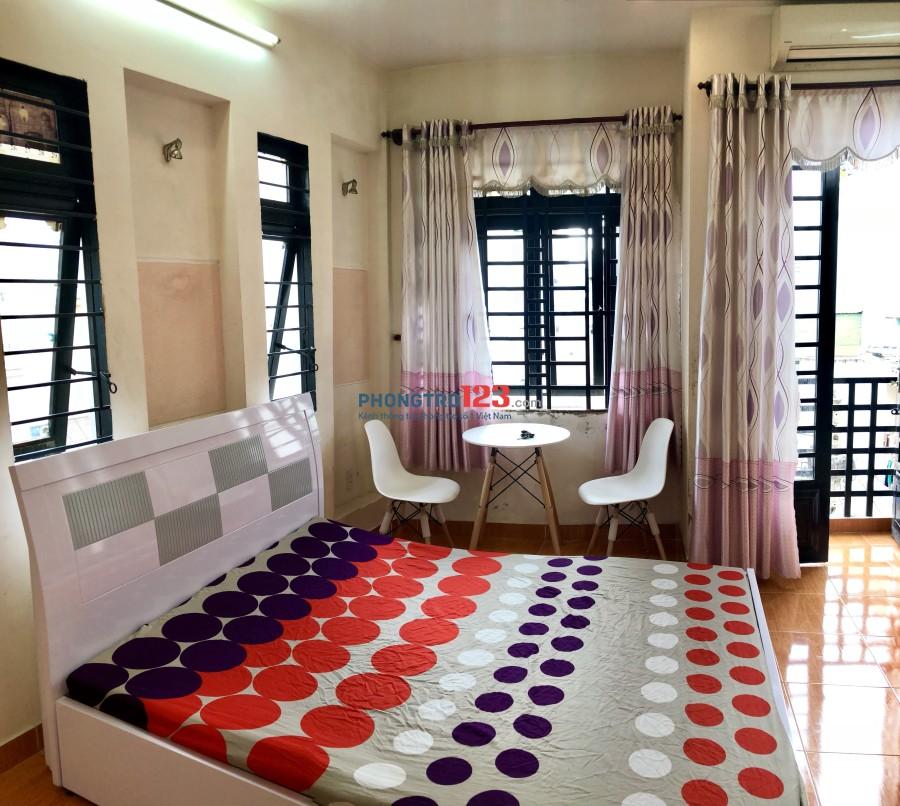 Phòng mini có ban công, cao cấp, thoáng mát. Trung tâm Phú Nhuận
