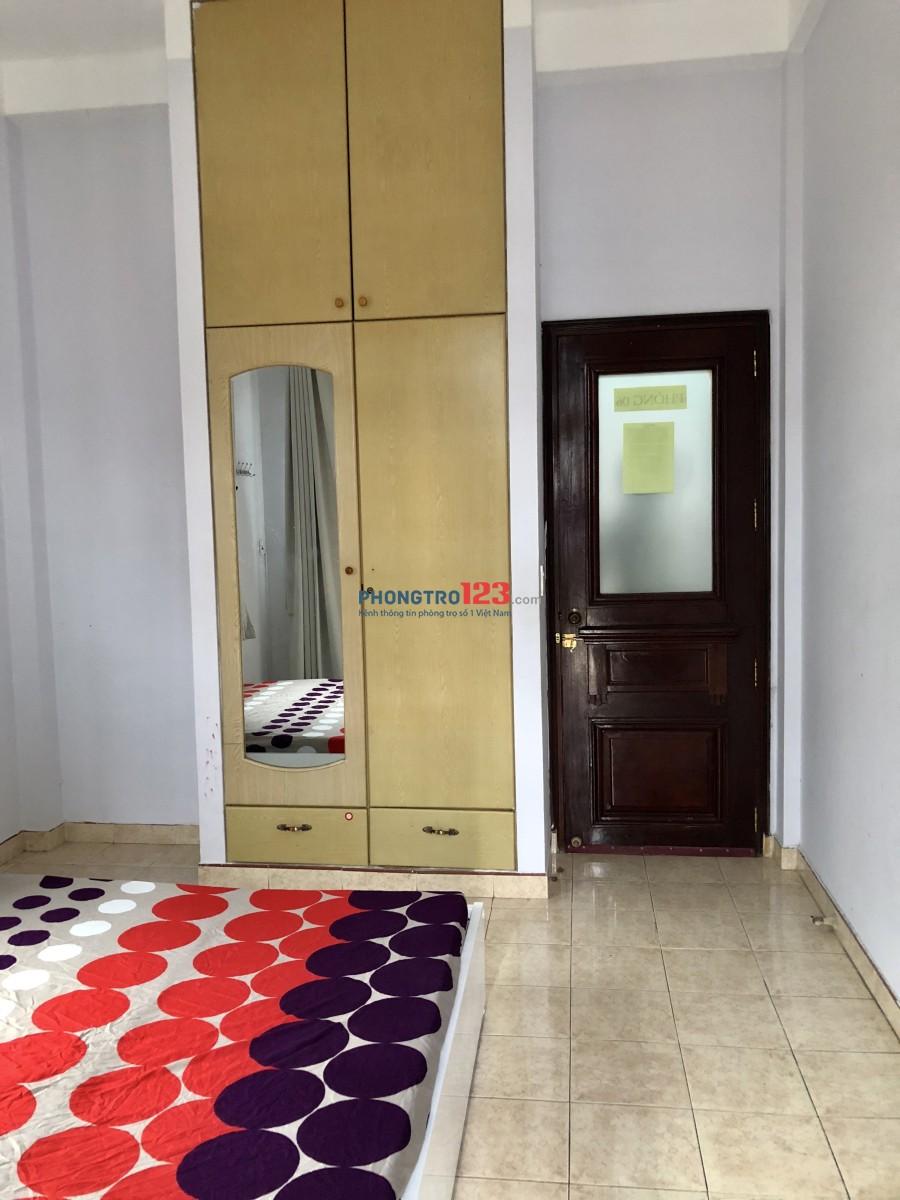 Phòng thoáng mát, an ninh, có nội thất. Ngay ngã 3 CMT8 & Phạm Văn Hai