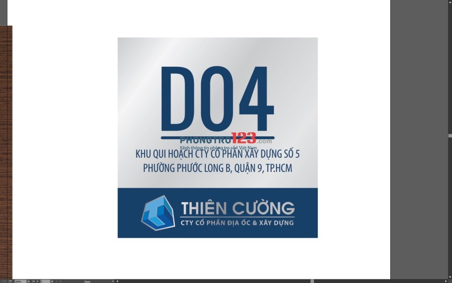 Cho thuê phòng trọ gần khu công nghệ cao Q.7 giá 1.7tr/tháng. LH: 0889090611