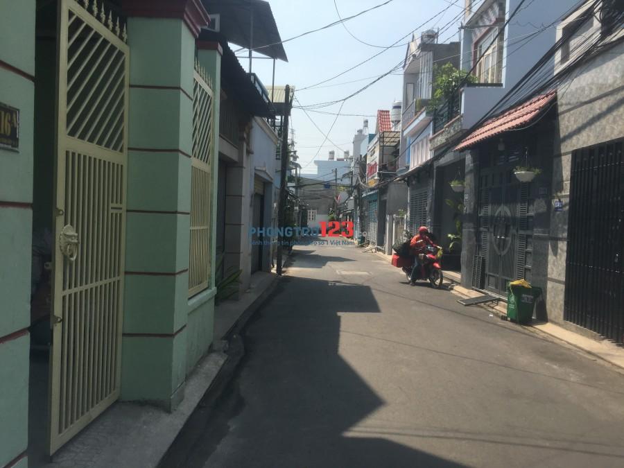 Phòng trọ mới trong nhà nguyên căn (gần công nghệ phần mềm Quang Trung)