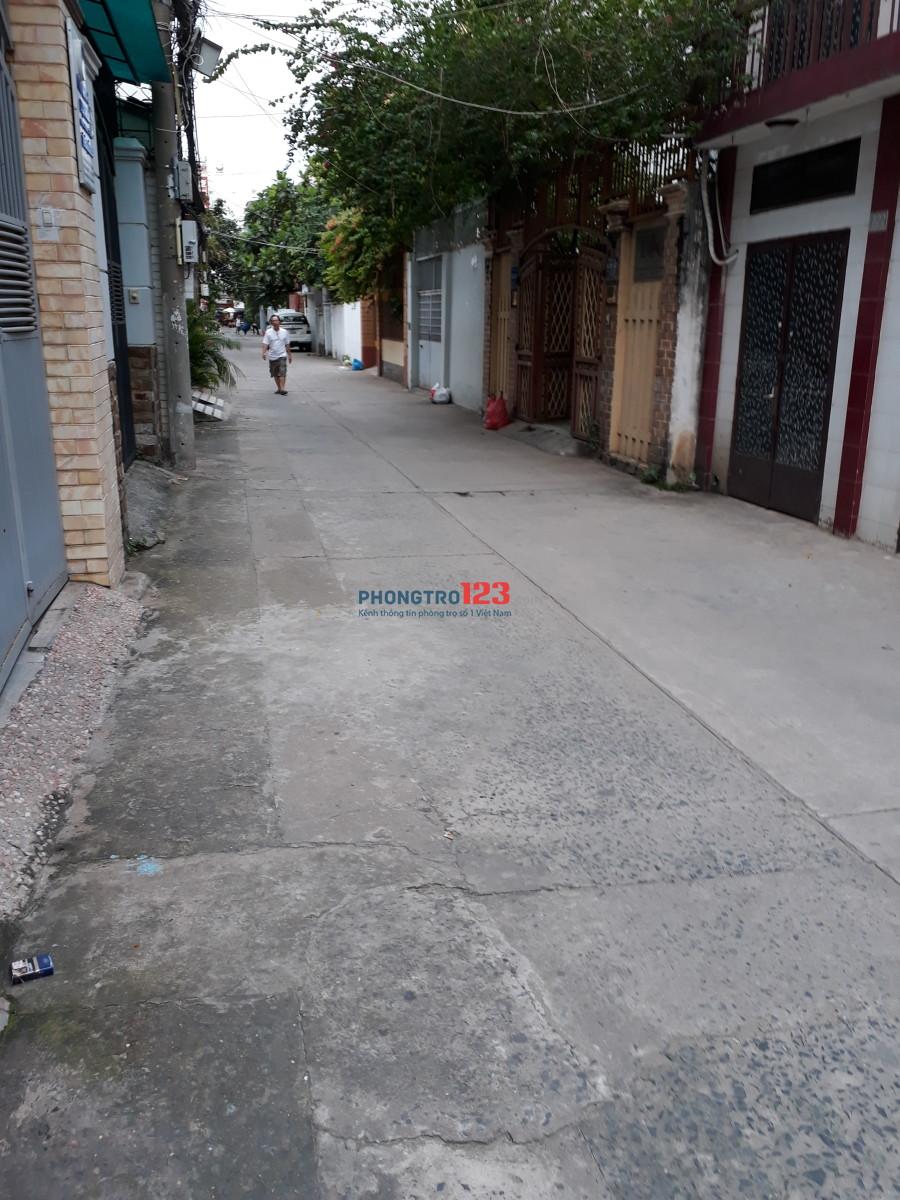 Phòng trọ 25m2 hẻm xe hơi đường Bùi Đình Túy, P.24, Bình Thạnh