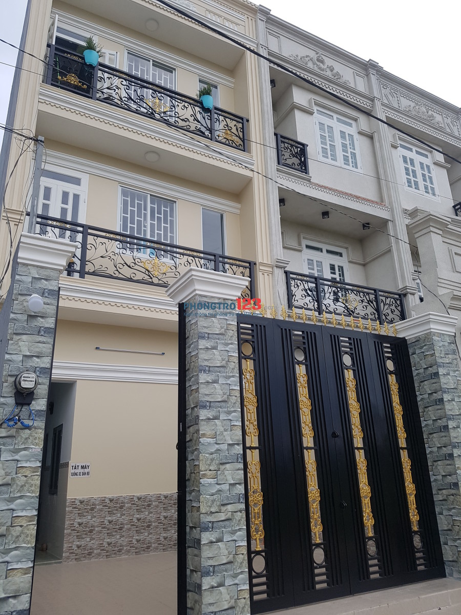 Cho nữ thuê phòng cao cấp mới xây ngay Nguyễn Thị Tú giao Bình Thành, sạch và mát, 1.3 triệu/phòng, DT: 20m2