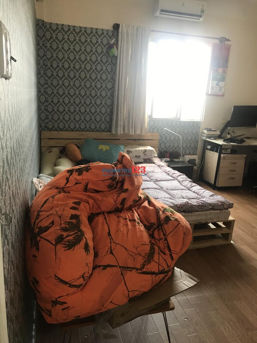 Cho thuê căn hộ chung cư Bình Minh, WC riêng