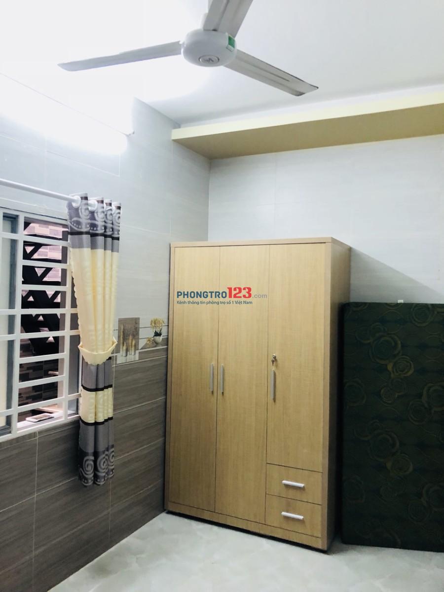 Phòng Trọ Mới Xây Full Nội Thất / Máy Lạnh - Bình Thạnh (3.1tr)