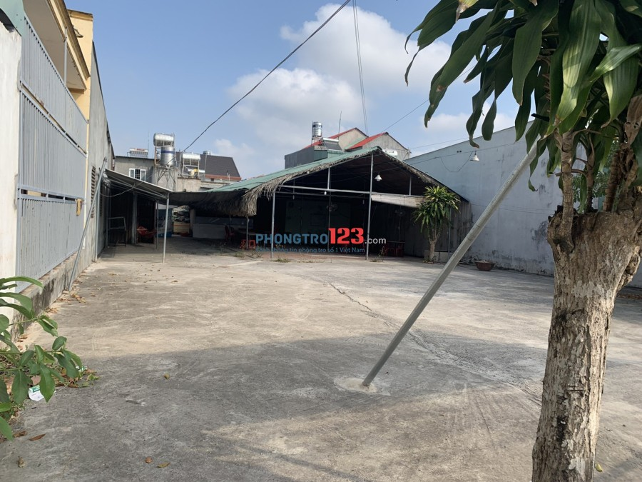 Cho thuê đất mặt bằng 600m2 kinh doanh Tp.Biên Hòa