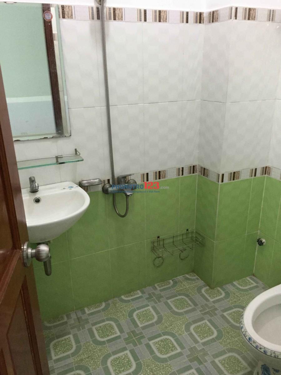 Phòng cao cấp cho thuê gần ngã tư Quang Trung – Phan Huy Ích có máy lạnh, quạt, toilet riêng, bao nước, wifi tốc độ cao