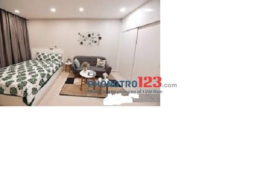 Phòng 30m2, ban công đẹp, tiện nghi thoáng mát Lê Hồng Phong, giá 4tr7/th
