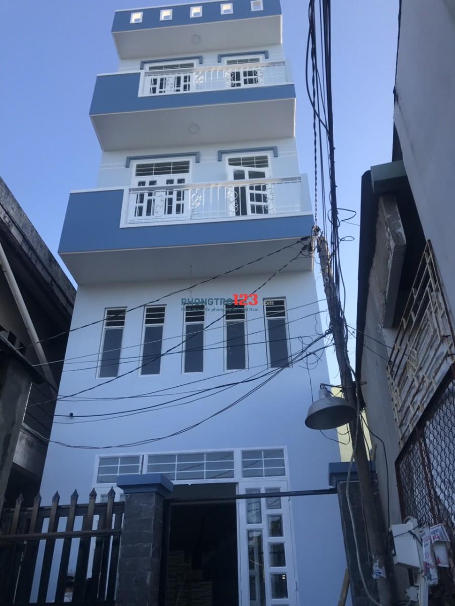 Phòng trọ mới xây Phước Bình, Quận 9, 25m2, có nội thất, bancon, 3,2 tr/th, LH 0944979686