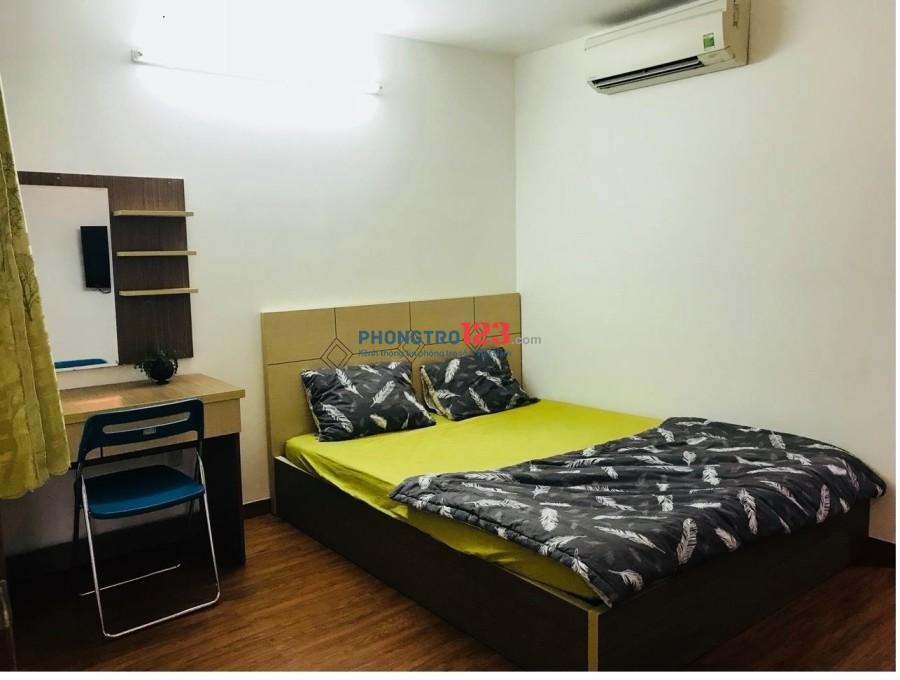 Phòng cho thuê FULL nội thất, có CỬA SỔ, Phạm Viết Chánh q1
