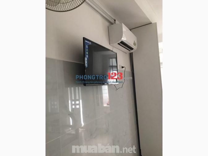Cho thuê phòng full nội thất 130/55 Phạm Văn Hai