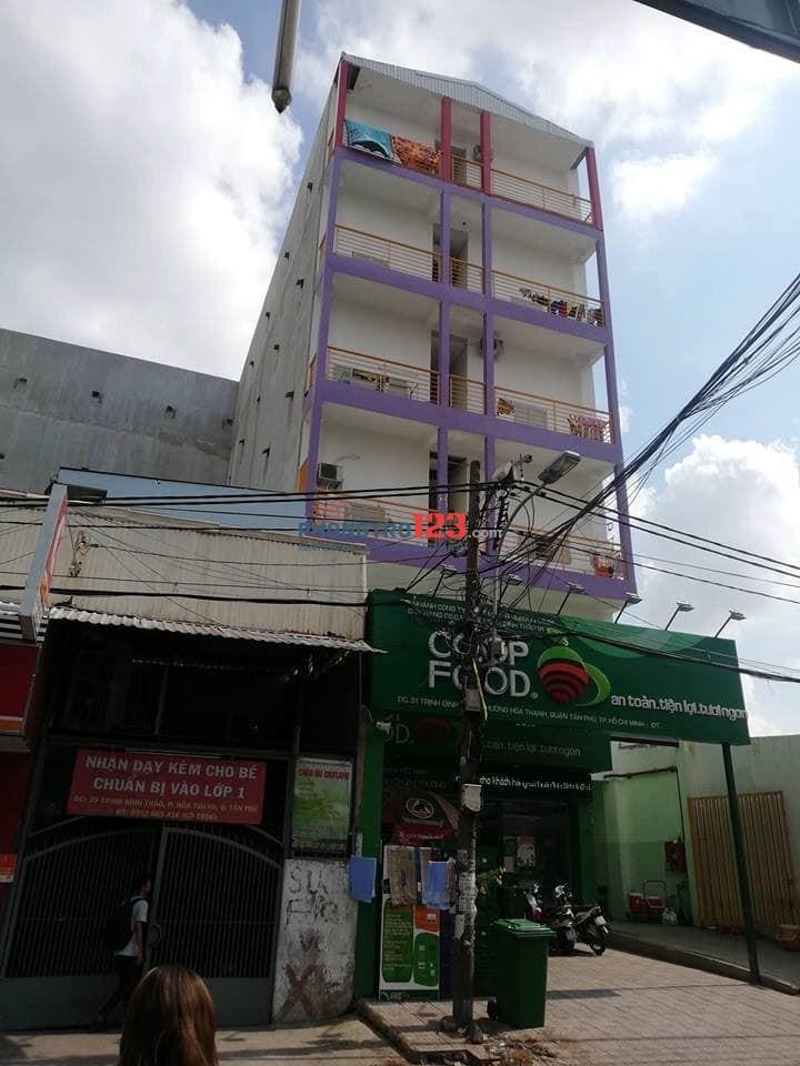 Nhà trọ Tân Phú đối diện Cao Đẳng Công Nghệ Thông Tin, 31 Trịnh Đình Thảo