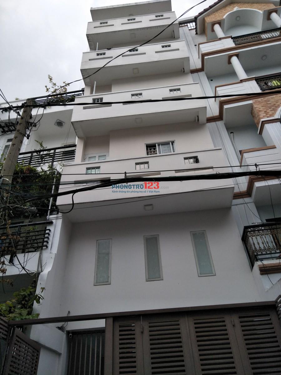 Phòng bang công cửa sổ, 20m2, 2,9tr, Lê Văn Huân, Tân Bình