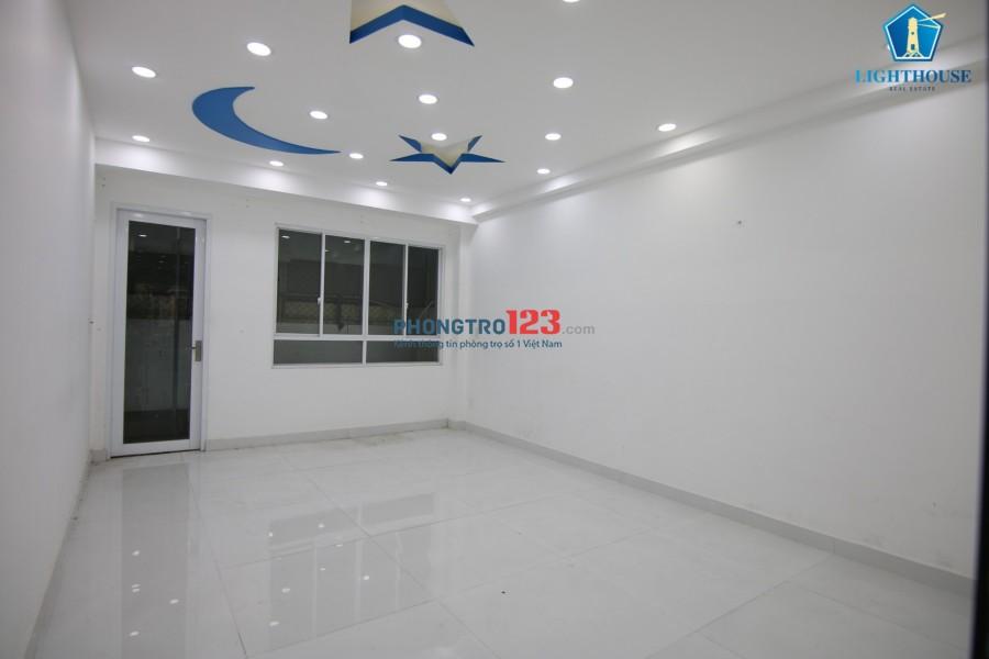 Cho thuê tòa nhà nguyên căn 1 trệt 7 lầu mặt tiền đường Vĩnh Hội, quận 4