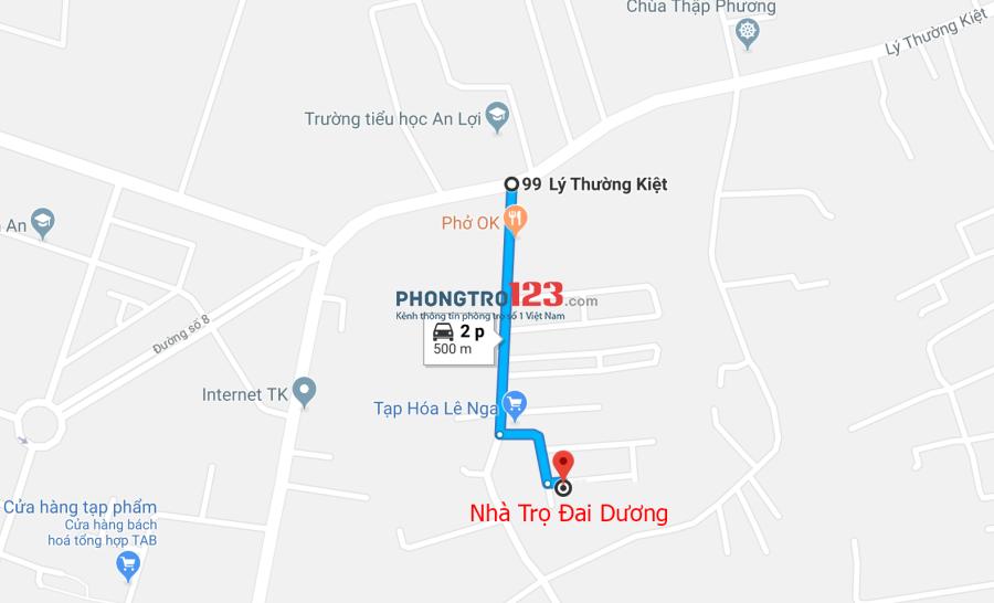 (Còn Phòng) Nhà trọ tại Tam An khu công nghiệp Long Thành Đồng Nai