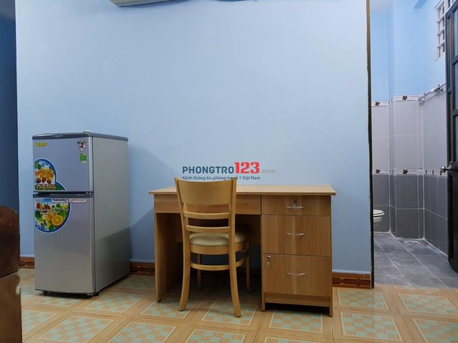 Phòng Gò Vấp full tiện nghi, có ban công, giờ tự do. Giá chỉ 3tr4