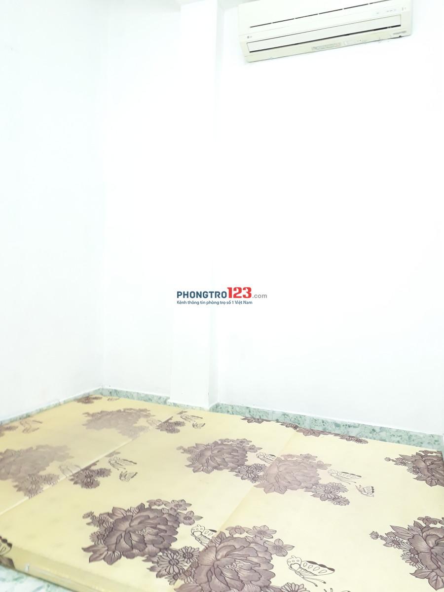 Phòng trọ chính chủ, máy lạnh 3tr/thg ngay bờ kè Hoàng Sa, Quận 1