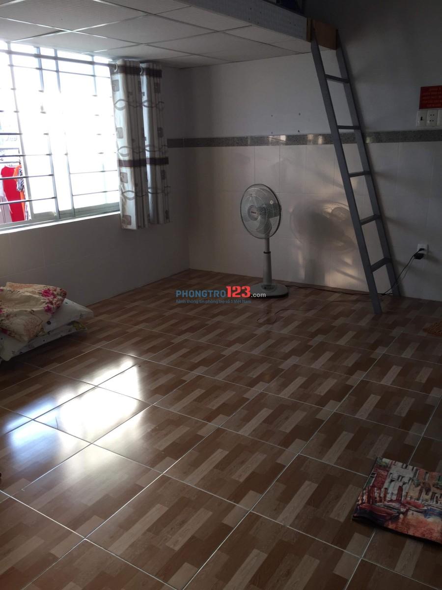 Phòng trọ rộng rãi thoáng mát ở Tân Phú