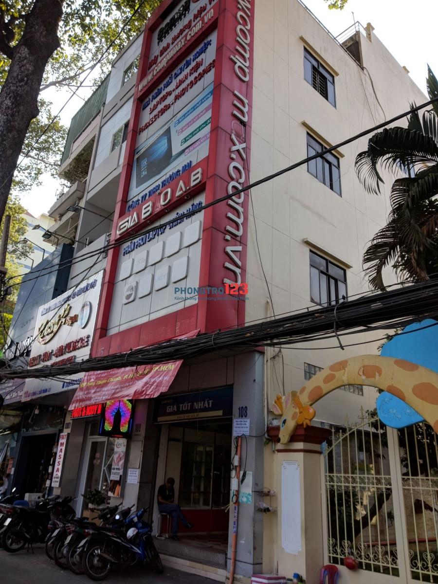 Cho thuê nhà mặt tiền Bùi Thị Xuân, Quận 1, 320m2, 4 lầu, làm cửa hàng hoặc văn phòng