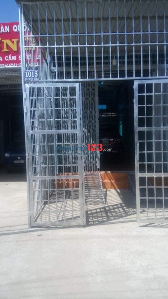 Cho thuê nhà nguyên căn mặt tiền Phạm Văn Đồng