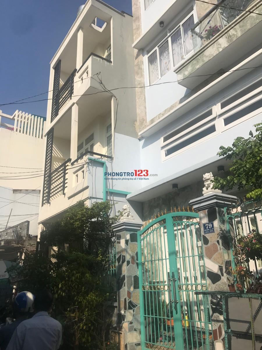 Chính chủ cần cho thuê nhà 1 trệt 2 lầu, 5PN, tại 77 Diên Hồng, Bình Thạnh, 15 triệu