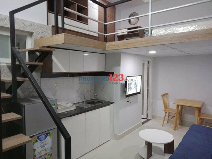Có chuỗi căn hộ mini cho thuê nội thất cơ bản hoặc Full nội thất Quận 7 giá từ 4tr5