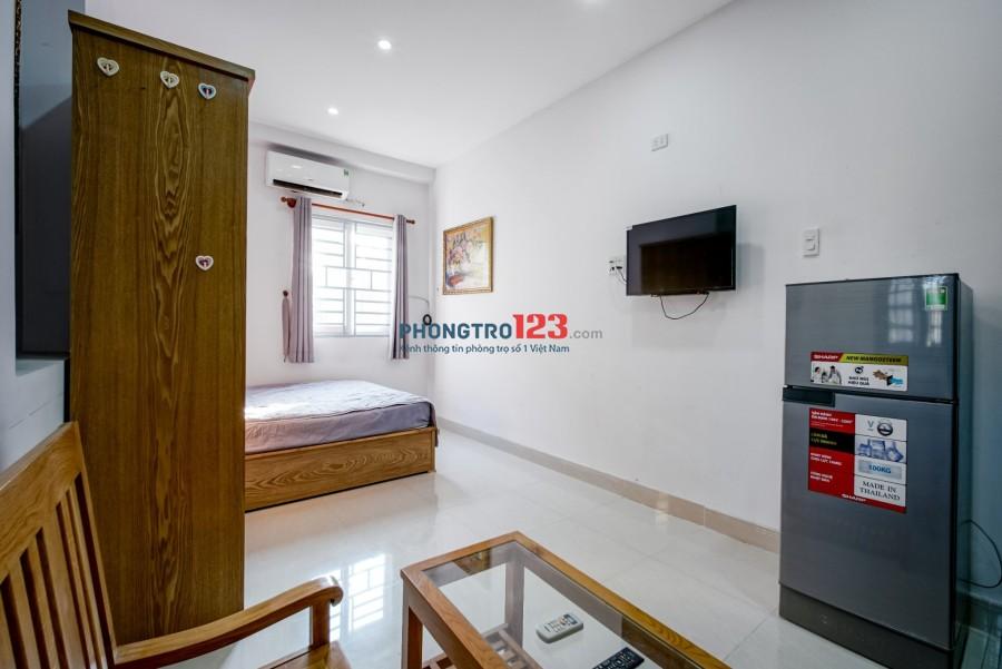 Cho thuê căn hộ mini đầy đủ tiện nghi, ngay Hòa Hưng, CMT8 gần Cv LTR