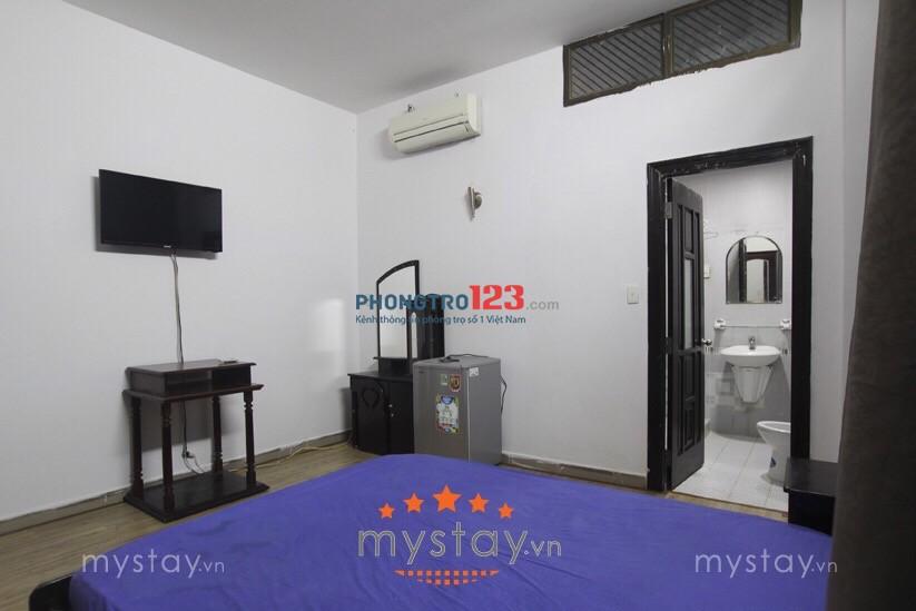 Cho thuê phòng full nội thất mặt tiền Nguyễn Thông, Q.3