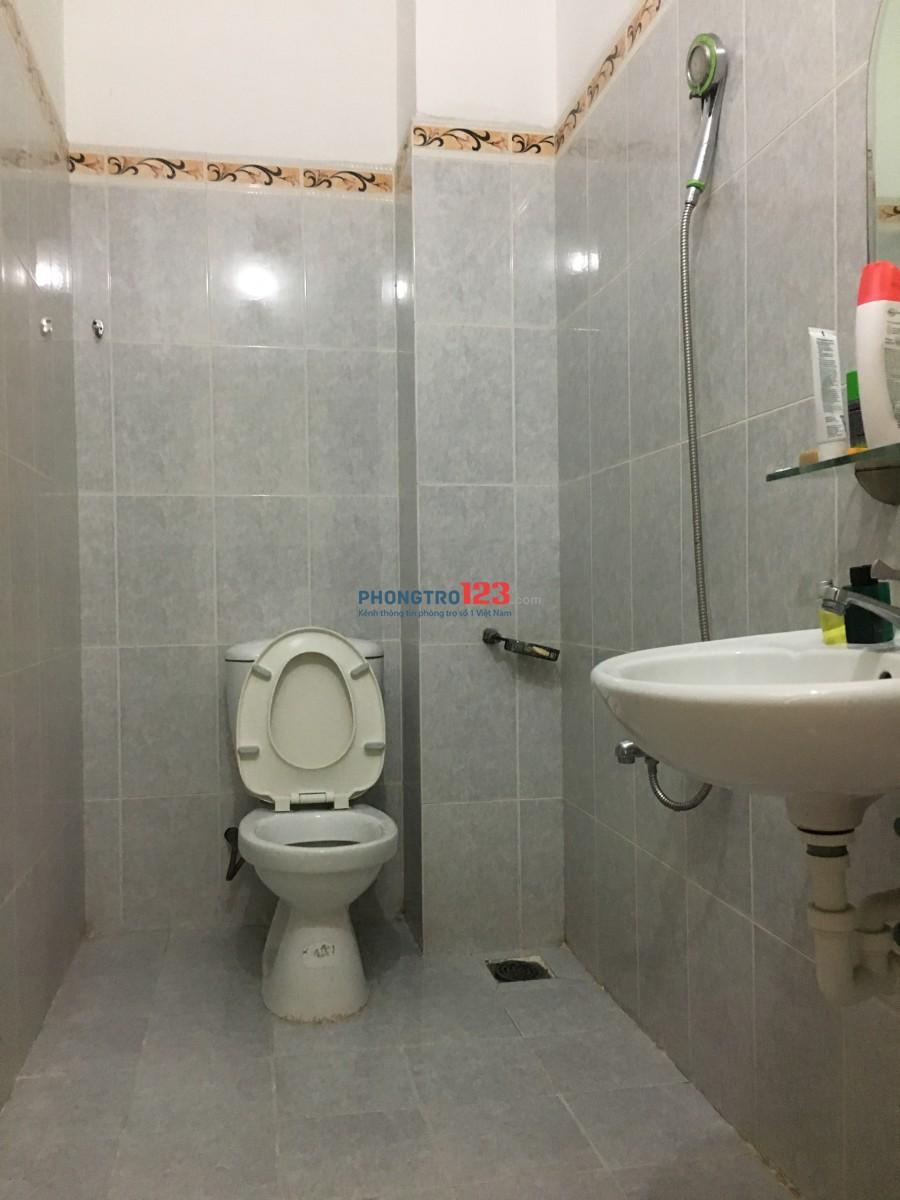 Cho thuê phòng trọ tại đường Nguyễn Thị Minh Khai Q.3 sát Q1