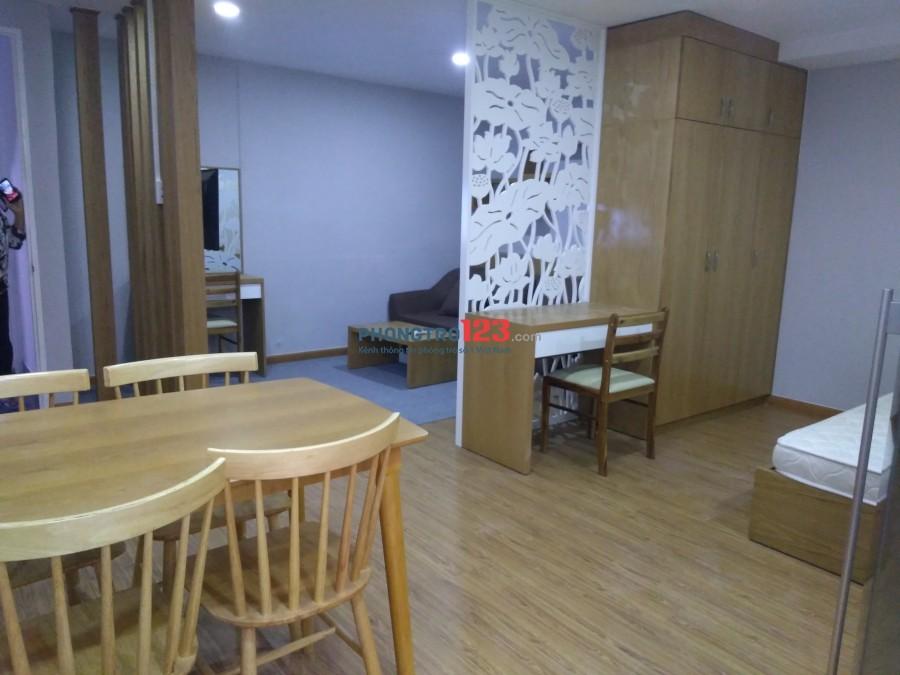 Phòng căn hộ full nội thất ngay cầu chữ y giá rẻ Quận 8