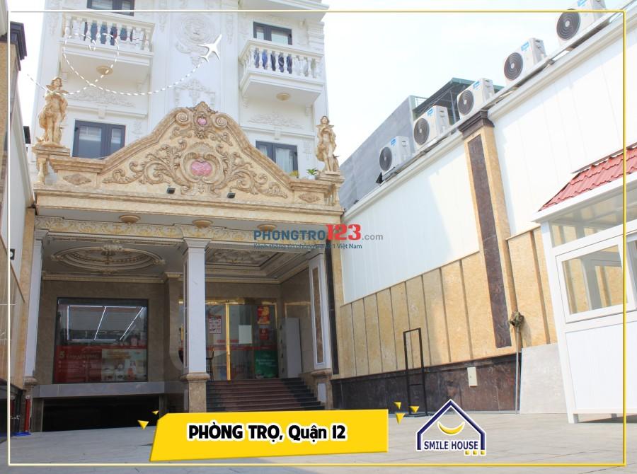 Căn hộ cho thuê cao cấp như khách sạn 5* Trung Mỹ Tây 13, Quận 12 giáp ranh Quang Trung, Gò Vấp, giá rẻ