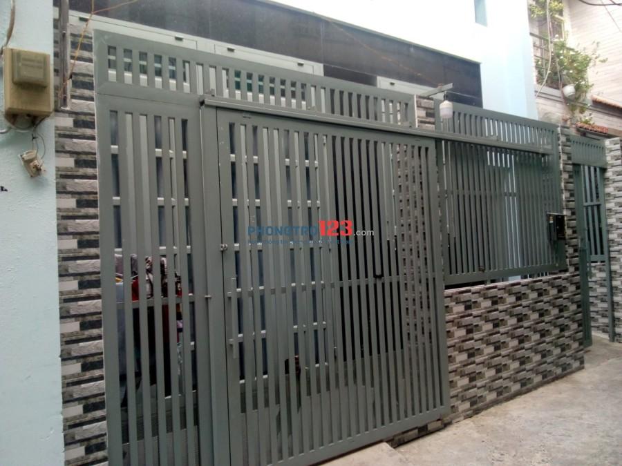 Phòng trọ nữ đường Trần Văn Quang, quận Tân Bình