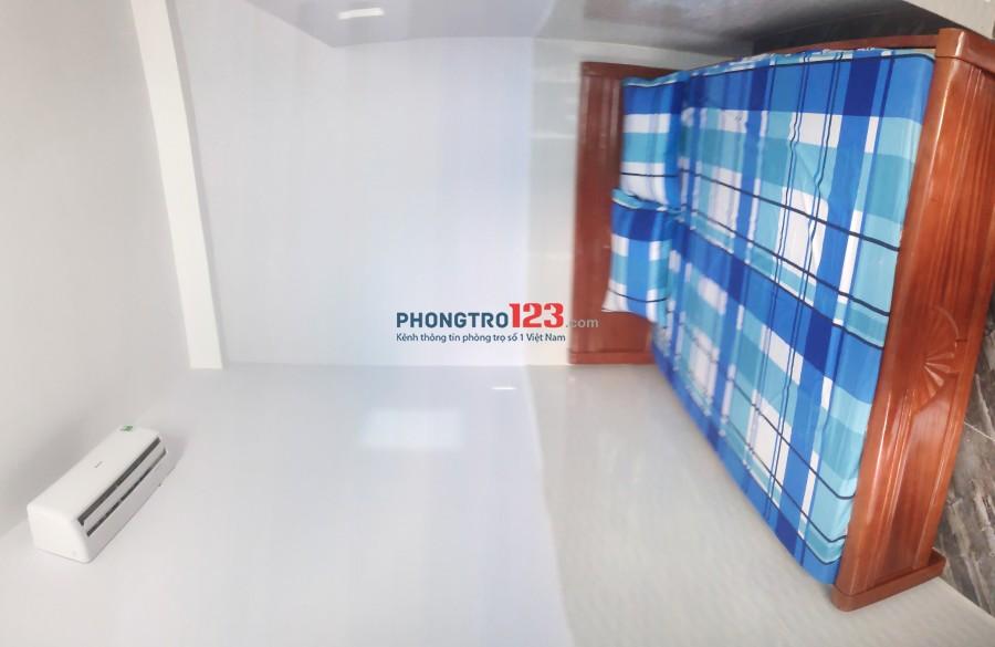 Căn hộ studio mới xây 25m2 full tiện nghi, giờ giấc tự do, khu Vincom+ 54 Trần Trọng Cung, Q.7