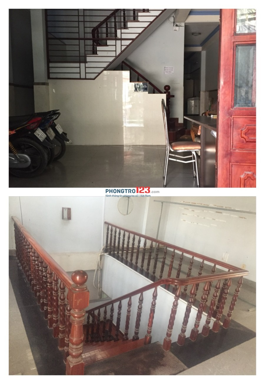 Nhà trọ ở ghép nhiều dịch vụ Bình Hưng Hoà B, quận Bình Tân