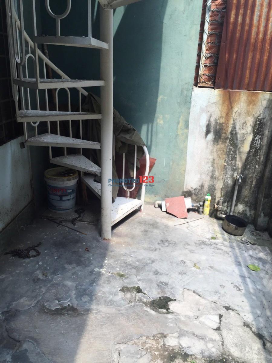 Nhà trọ rẻ Bình Thạnh 40m2 sạch rộng thoáng mát