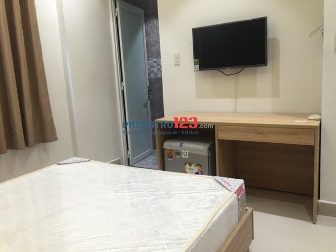 Phòng 30m2 đầy đủ tiện nghi Trần Hưng Đạo, giá 4tr7/th