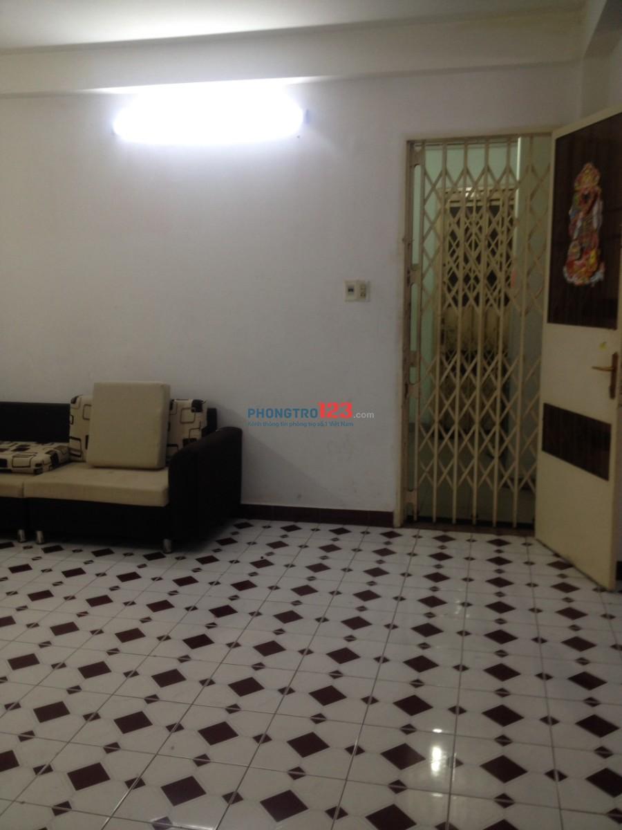 Cần tìm 1 hoặc 2 bạn ở ghép căn hộ chung cư đường Tân Vĩnh, Q.4 (gần đường Khánh Hội)