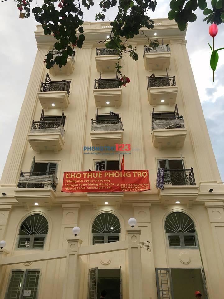 Cho thuê phòng trọ mới xây đường Trần Bá Giao, F5, Gò Vấp giờ giấc tự do. LH: 0903156245