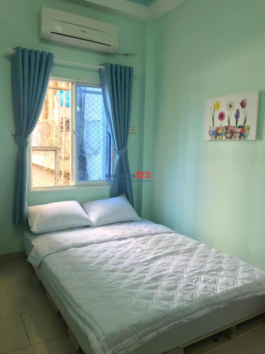 Phòng cho thuê có nội thất, cửa sổ, Phan Kế Bính, quận 1