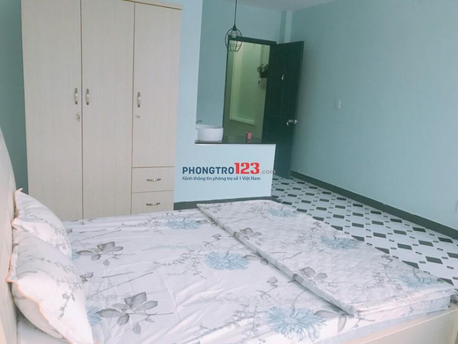 Phòng đủ tiện nghi gần đài truyền hình quận 1, DT: 30m2, giá: 5.1 triệu 0918856800