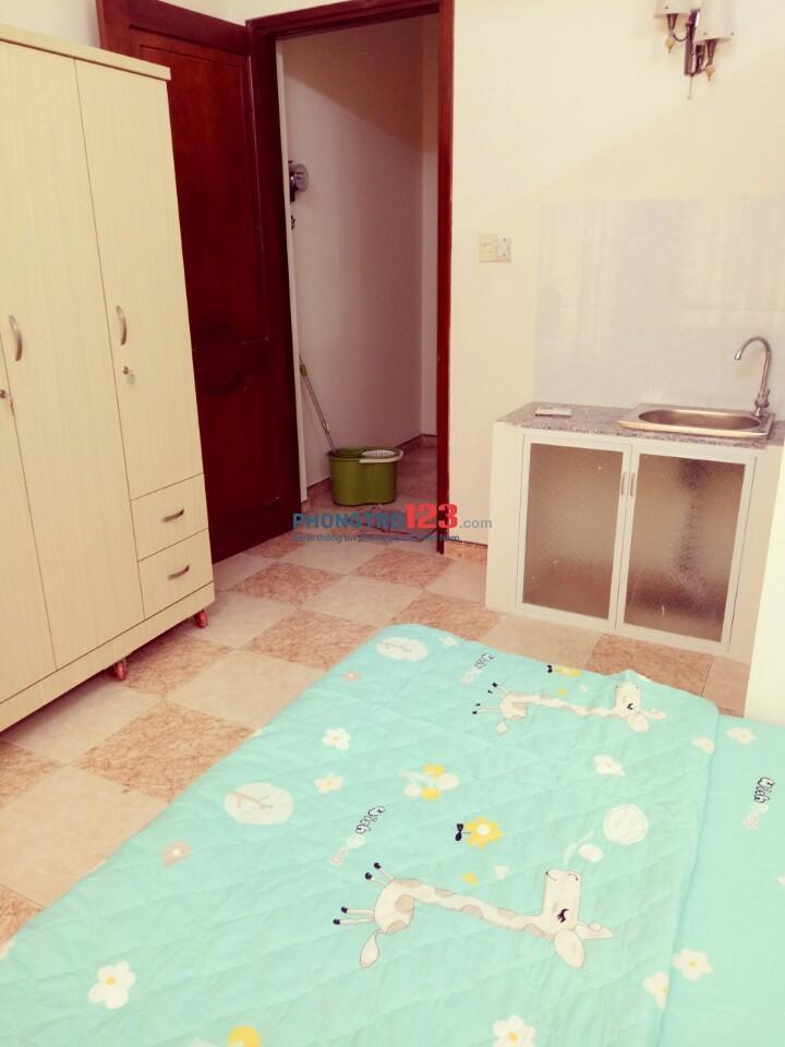 Căn hộ mini có ban công ngay trung tâm Phú Nhuận, DT: 25m2, giá: 4.5 triệu 0918856800