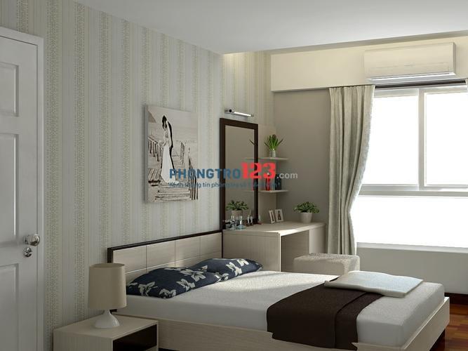Cho thuê căn hộ Celadon khu Ruby, Tân Phú 70m2, 2PN, full nội thất 9,5tr